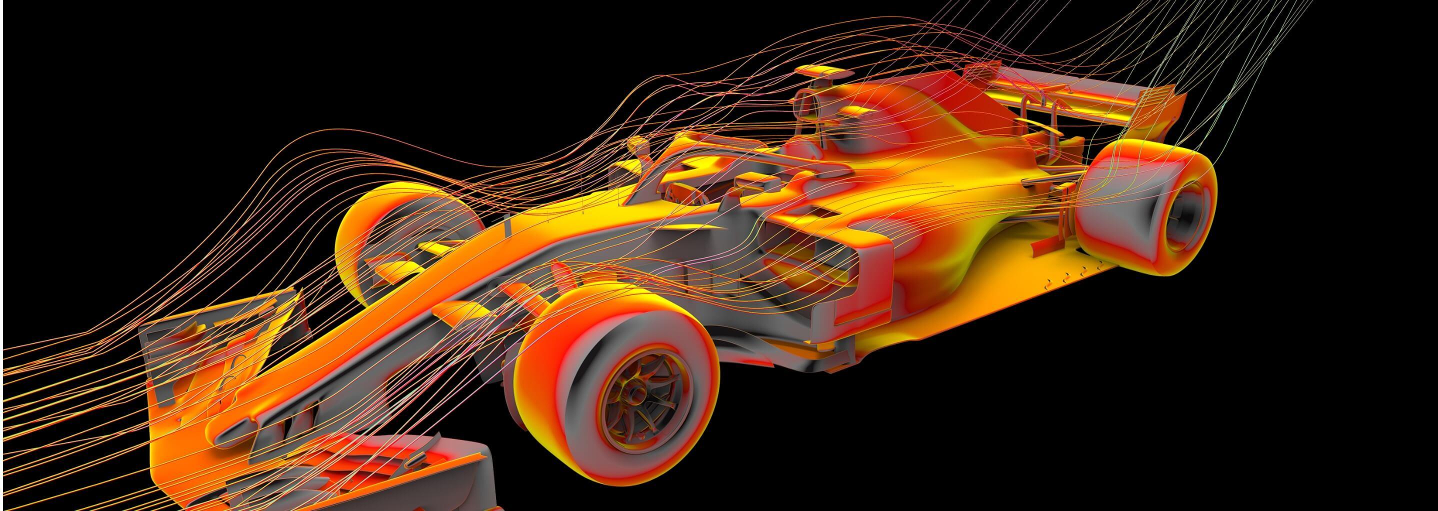 CFD analysis of a Formula One car